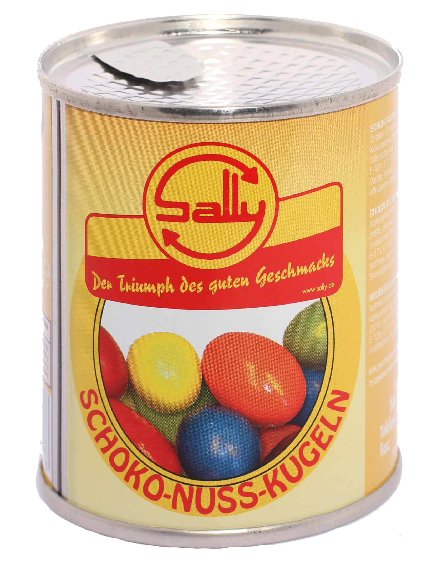 Schoko-Nuss-Kugeln bunt / Art.Nr.1479