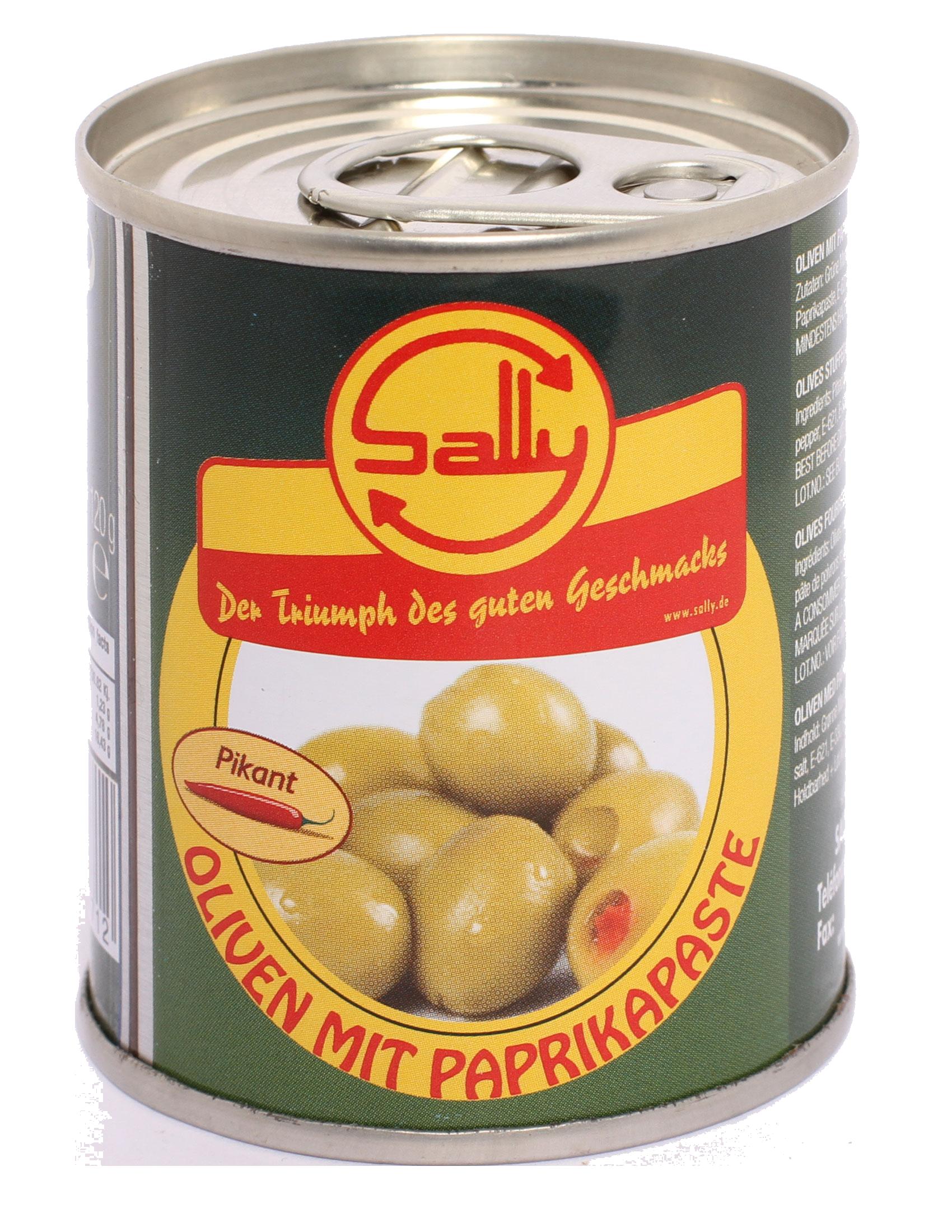 Oliven mit Paprika / Art.Nr.1676/S